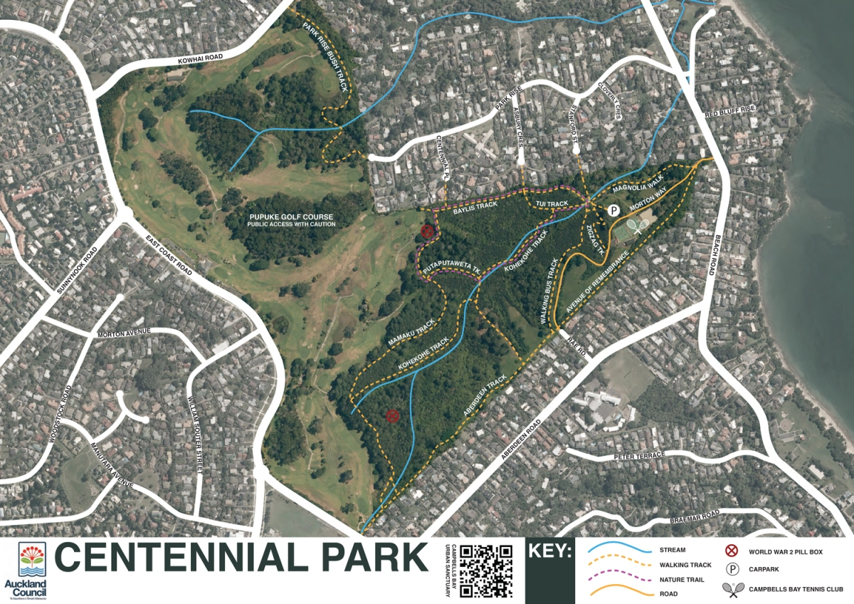 Maps Campbells Bay Urban Sanctuary